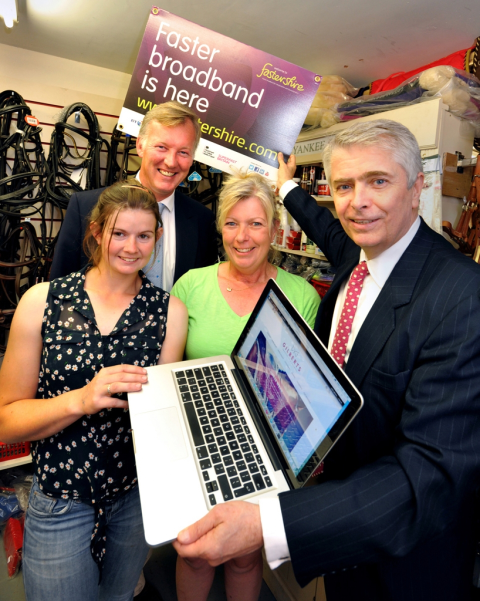 Engineers go the distance to bring the benefits of fibre broadband to Bromyard