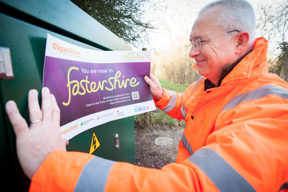 UK first for Fastershire and Gigaclear partnership