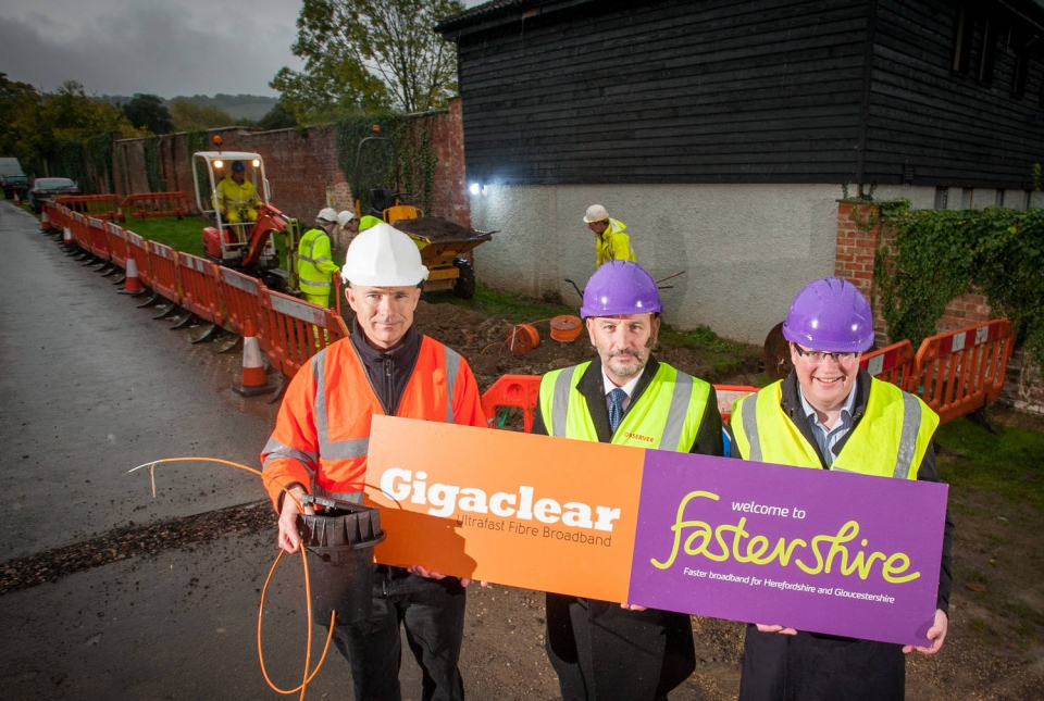 Fastershire begins work in the Cotswolds to deliver ultrafast broadband